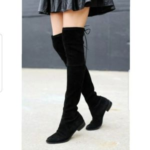 💕 Faux Suede Thigh High Boots 💕
